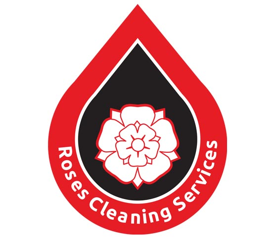Roses Cleaning Logo